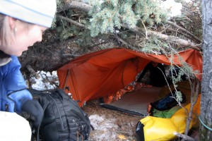 Survival Training - Shelter Building, Rocky Mountain Adventure Medicine