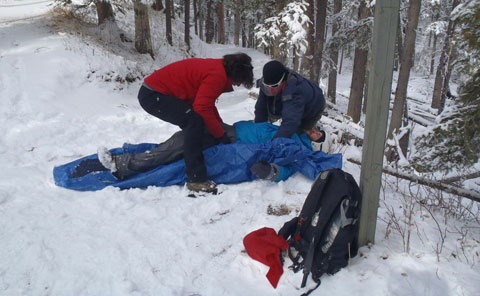 Wilderness Medical Training - Burrito Wrap